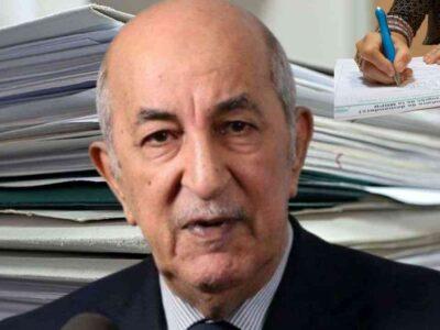 algérie tebboune guerre bureaucratie