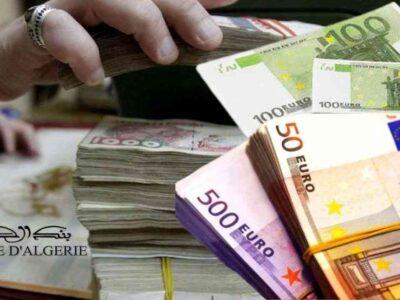 algérie devises dinar euro
