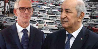 Algérie cahier charges voitures