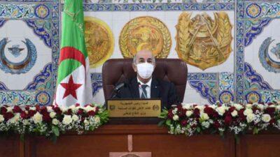 confinement Algérie tebboune