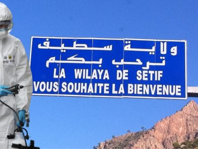 algérie confinement partiel sétif