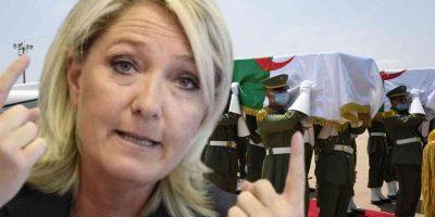 Marine Le Pen Algérie