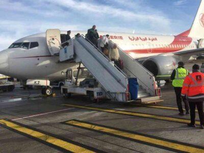 frontières air algérie rapatrier