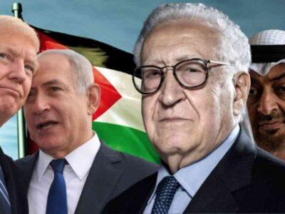 israël émirats brahimi palestine