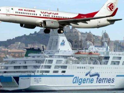 Air Algérie Ferries banques