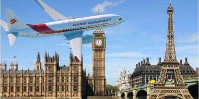 Air Algérie France Angleterre