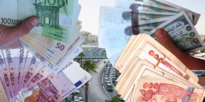 Algérie frontières euro dinar