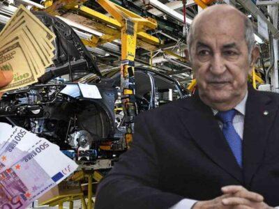 Algérie Tebboune devise automobile