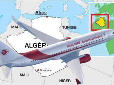 algérie ouverture frontières vols