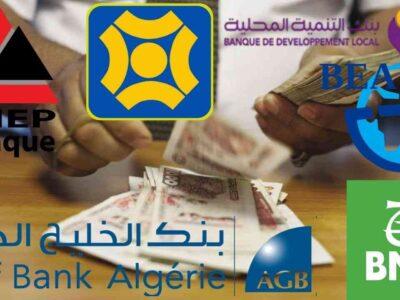 algérie prestations bancaires informel