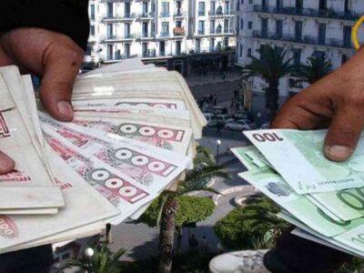 algérie dépréciation dinar euro