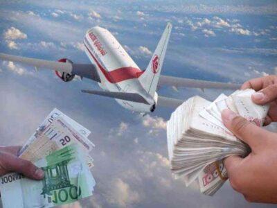 Algériens Euro dinar