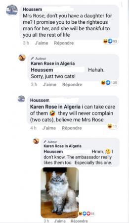 Ambassadeur USA Algérien