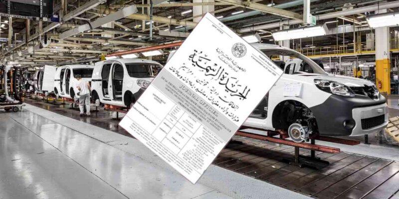 construction automobile algérie