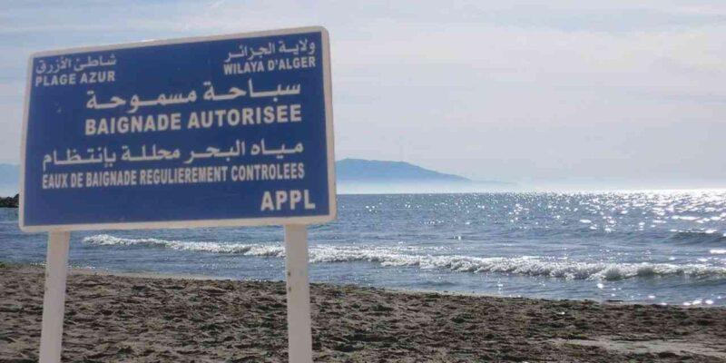 Coronavirus Algérie plages Alger