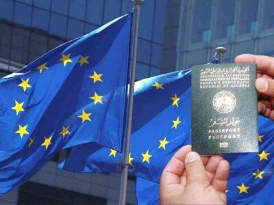 Algérie UE fermer frontières