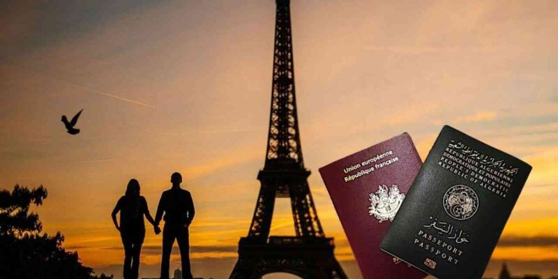 La France ouvre ses frontières aux Algériens en couple avec un Français France-ouvre-frontieres-algeriens-couple-francais-800x400