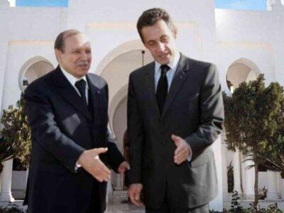 france sarkozy algérien bouteflika
