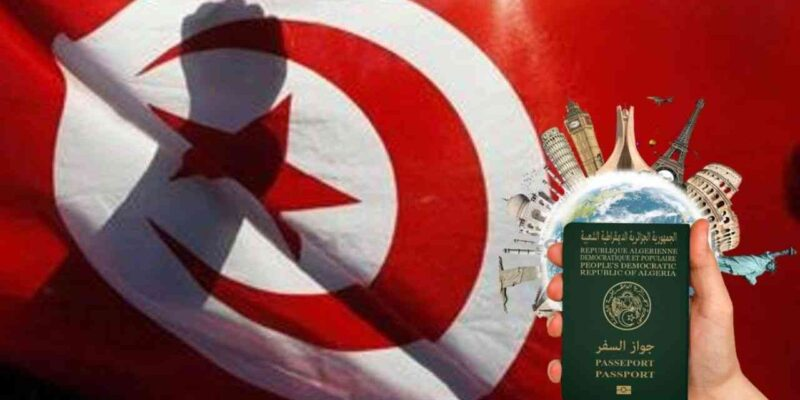 rapatriement Algériens Tunisie