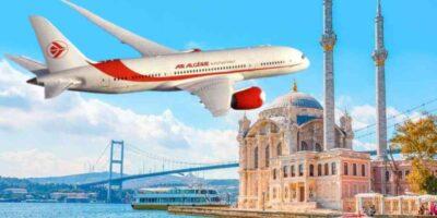 Algérie vols Istanbul Dubaï