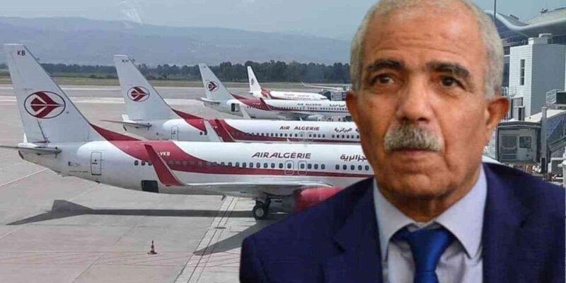 frontières vols Air Algérie