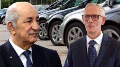importation voitures Algérie Tebboune