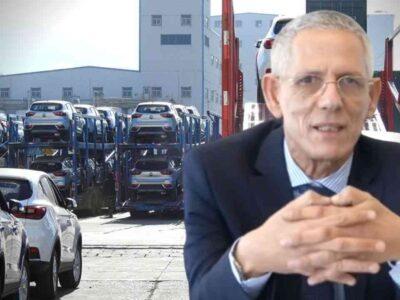Importation voitures Algérie cahier