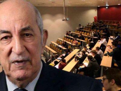 rentrée universitaire Algérie 2020