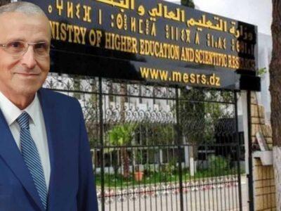 Rentrée universitaire Algérie ministre