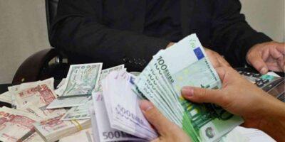 algérie taux change euro