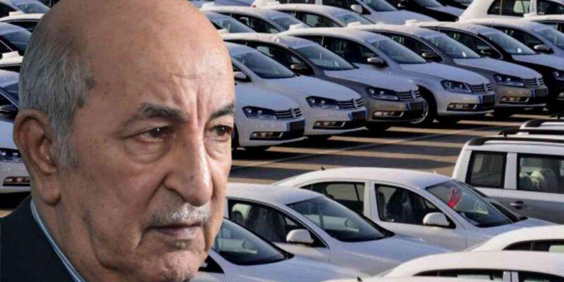 Voitures neuves Algérie