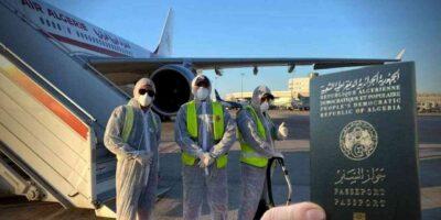Air rapatriement Algérie
