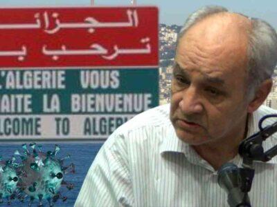 algérie ouverture frontières berkani