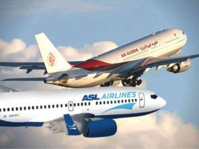 Algérie France vols spéciaux
