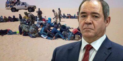 algérie vague immigration boukadoum