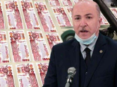 algérie marché parallèle argent