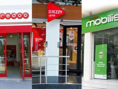 Algérie smartphones ooredoo djezzy