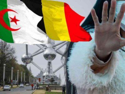 Belgique fermeture frontières Algérienne