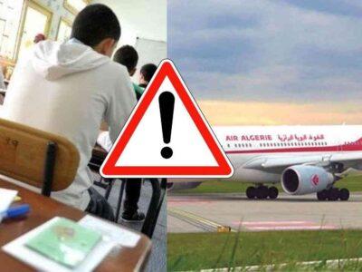 fermeture des frontières Algérie