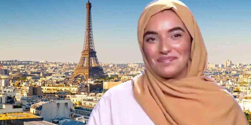 France étudiante algérienne voile