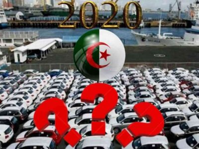 algérie importation automobile 2020