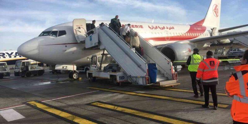 ouverture frontières vols algérien