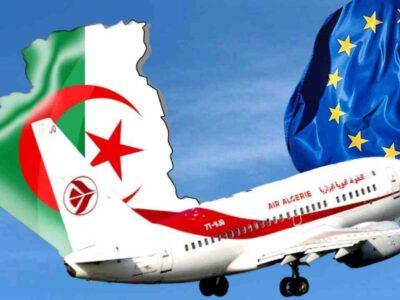 reprise vols Algérie Europe