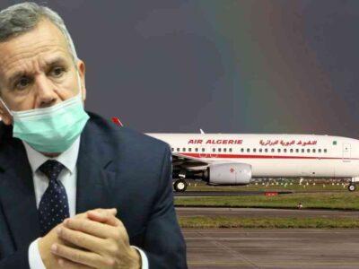 reprise Algérie vols