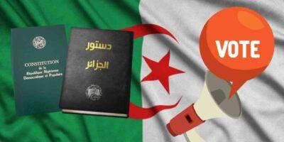 Constitution Algérie révision