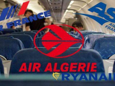 actualité vols algérie