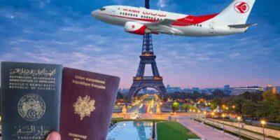 Algérie frontières visas france