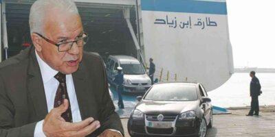 algérie voitures importation