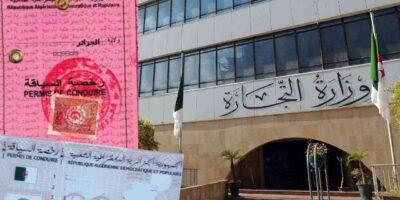 Algérie permis de conduire