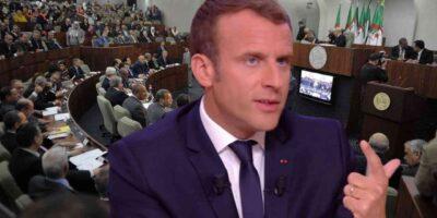 France Algériens Macron